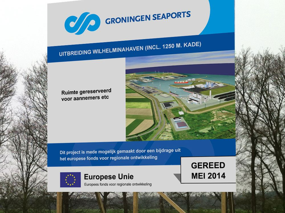Projectbord Groningen Seaports