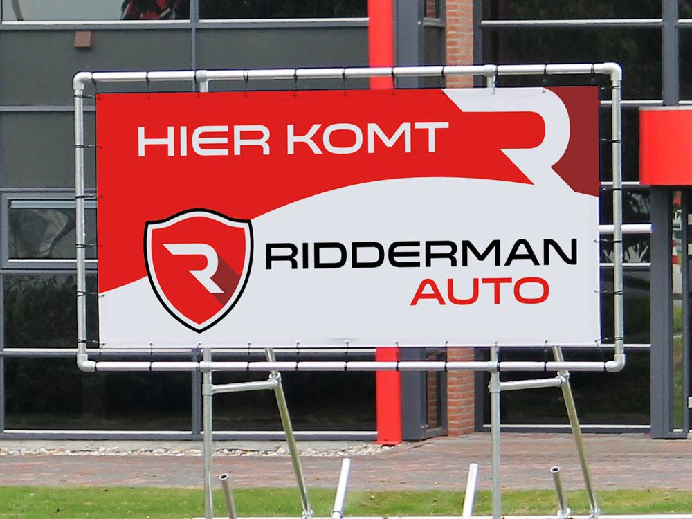Spandoek Ridderman Auto