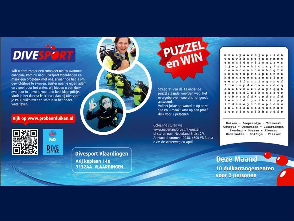 divesport puzzel